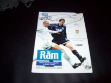 Derby County v Aston Villa, 2000/01